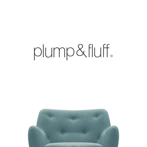 plump & fluff identity design
