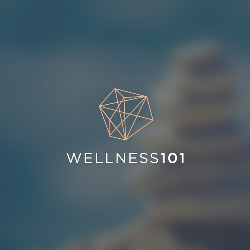 Simple and powerfull logo for Wellness101