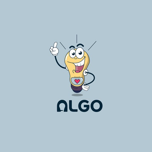 ALGO - Iconic Logo for a Bot
