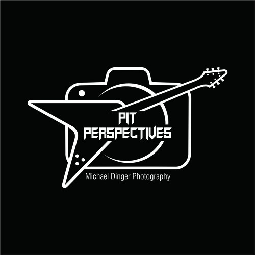 logo for live music photographer