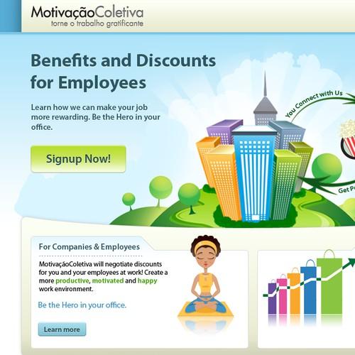 MotivaçãoColetiva (a Rio-based startup) needs a cool site design!