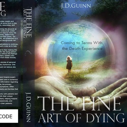The Fine Art of Dying needs a new book or magazine cover
