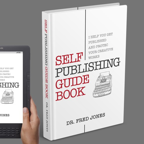 Book cover for self-publishing