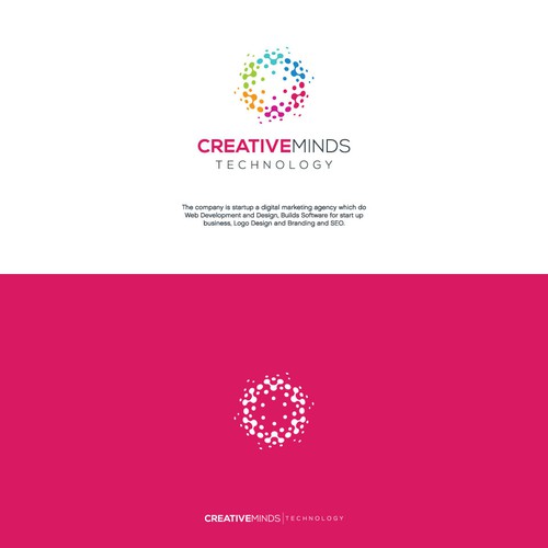 Creative logo for digital marketing