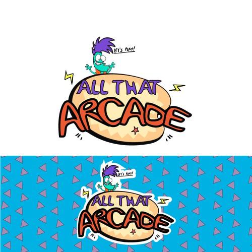 All that ARCADE logo proposal