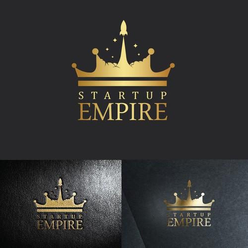 Startup Empire logo winner