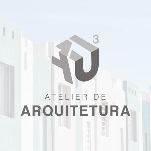 Logo: AU CUBO Atelier de Arquitetura