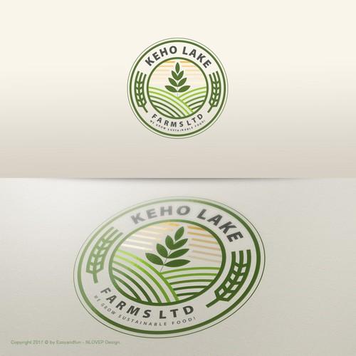 Logo concept for 'Keho Lake'