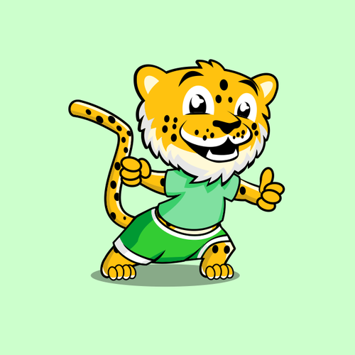 Mascot for educational game