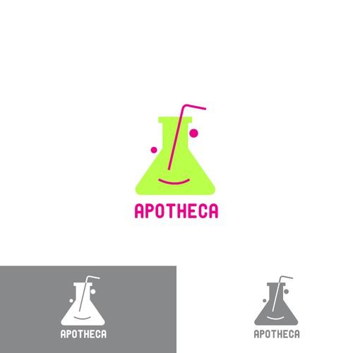 logo concept for apotheca