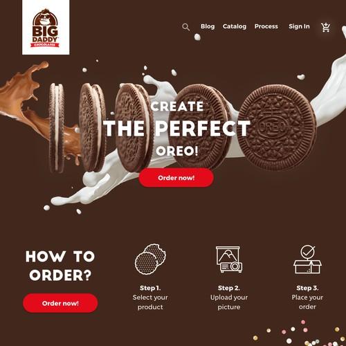 Big Daddy Chocolate Website