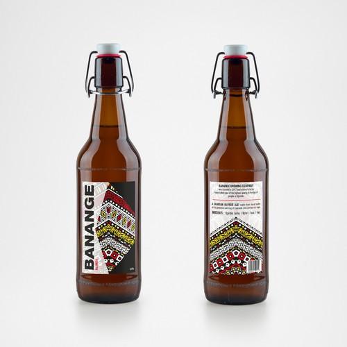 Ugandan beer - Banange blonde ale
