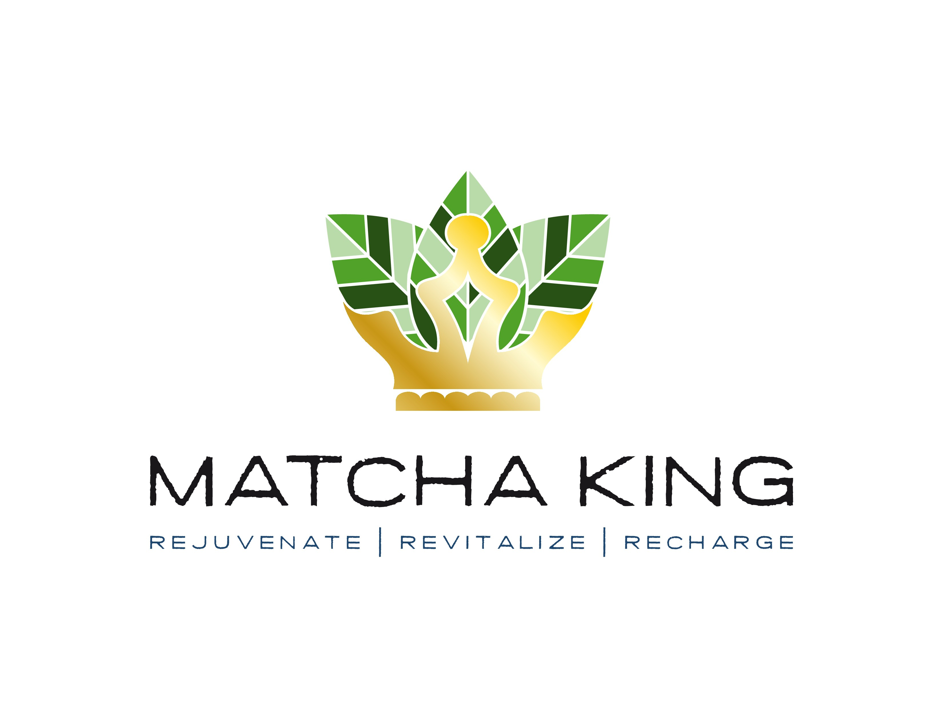 Create an attractive and original logo for a Matcha Green Tea company