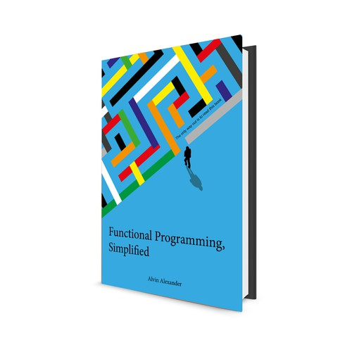 "Book cover ""functional Programming, simplified"""