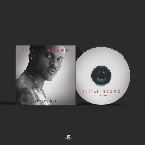 Elijah Brown - Toxic Love EP cover design