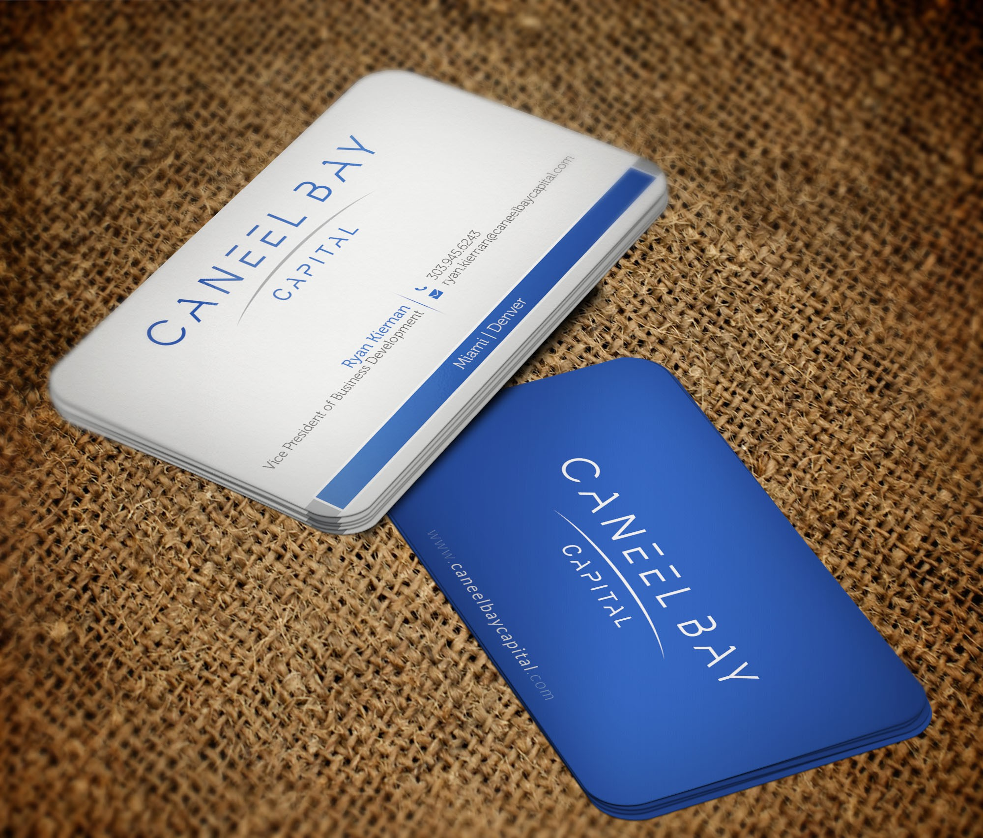 Need a designer up to the challenge of creating the right combo of classic and modern with our card.