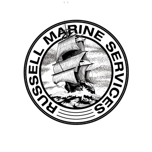 marine services logo