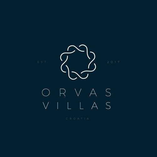 Modern, Upmarket brand design for Orvas Villas