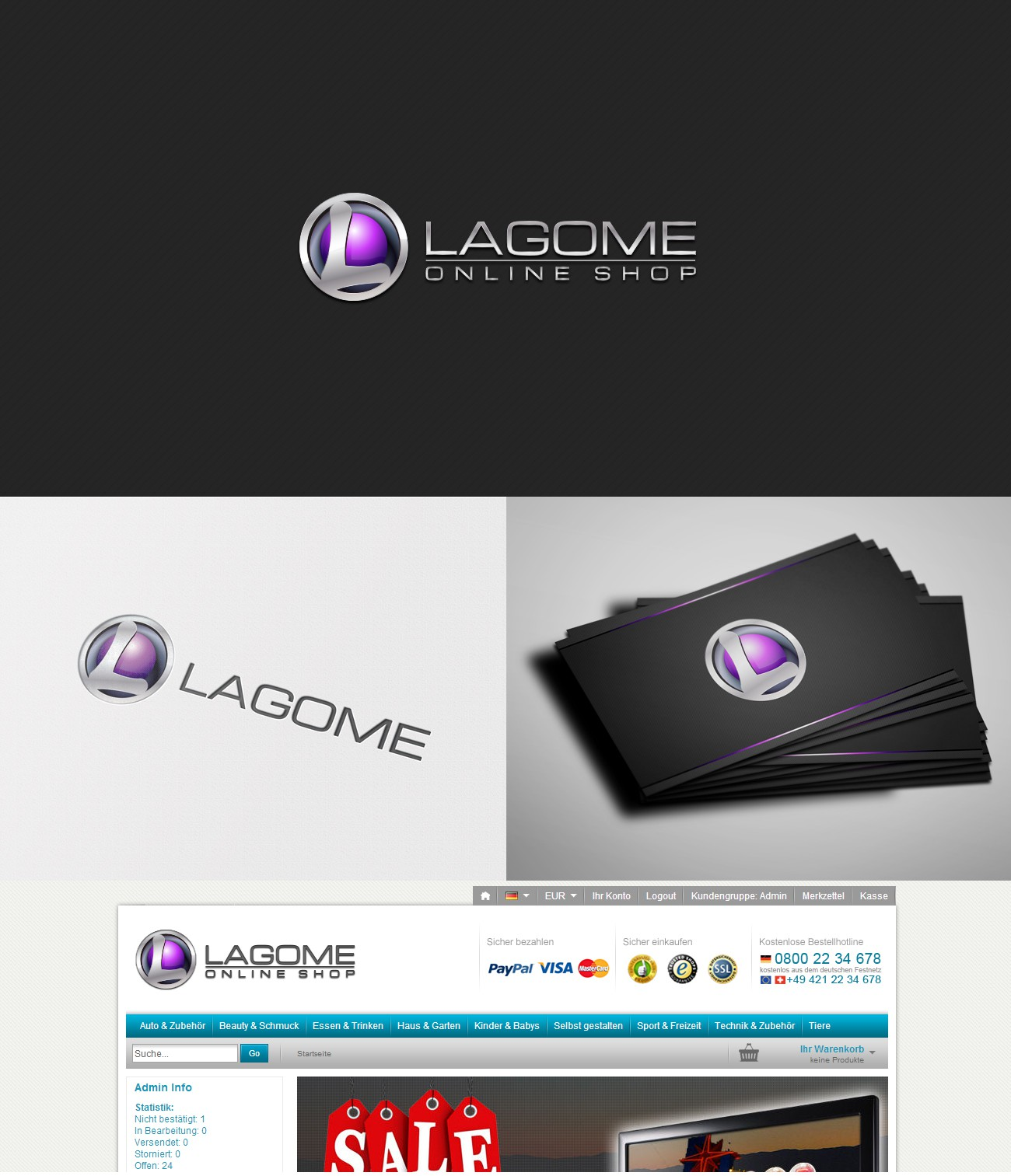 Lagome benötigt logo