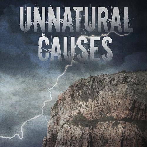 Supernatural thriller book cover design