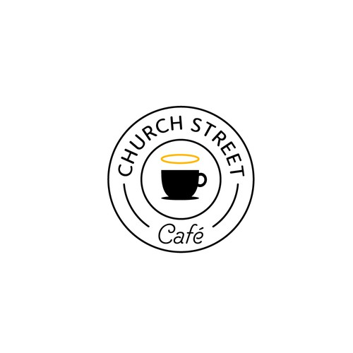 Logo for a coffee place