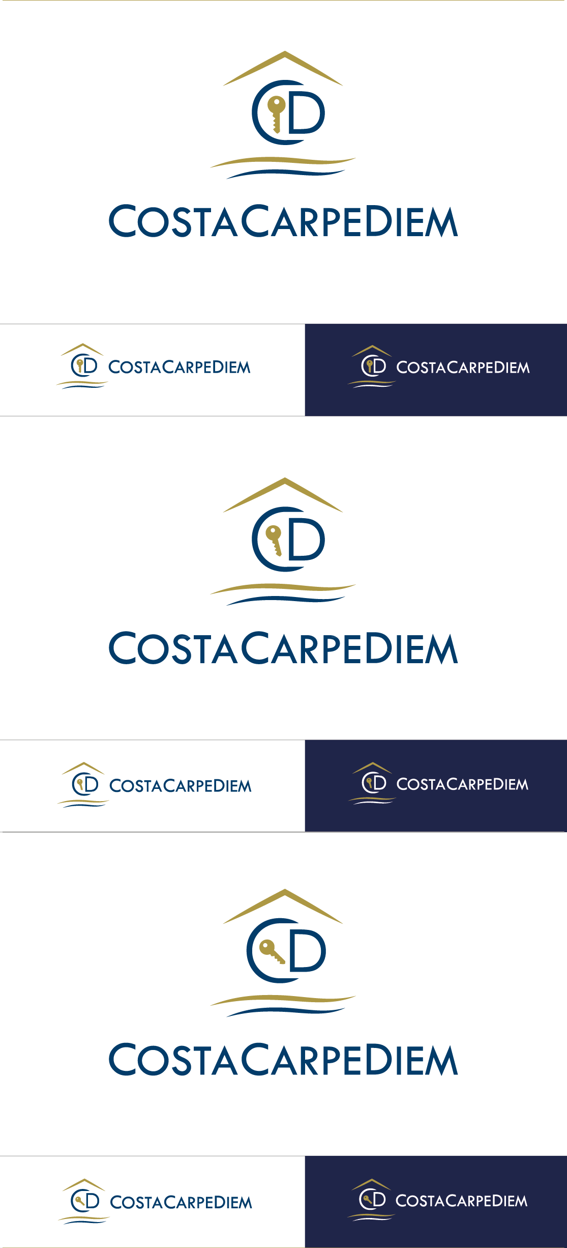 Create an orginal logo related to High Standing Holiday Rentals + Exclusive Services
