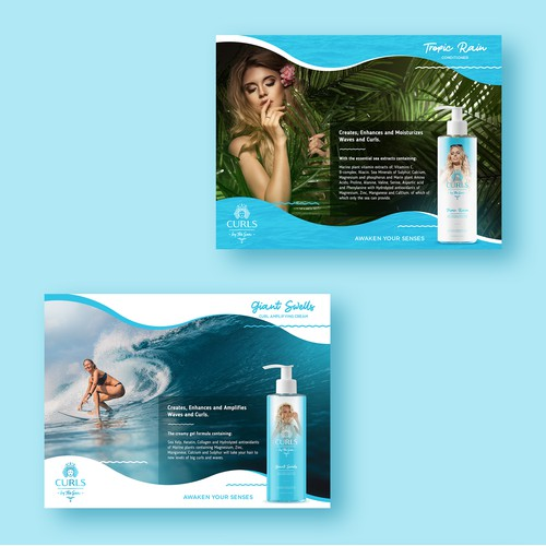 Product Packaging and advertising designs