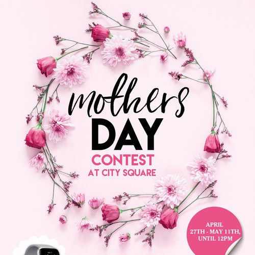 Mother's day contest poster