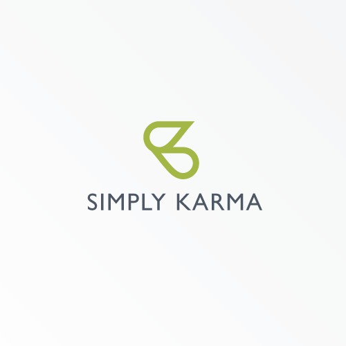 Bold Logo for Simply Karma
