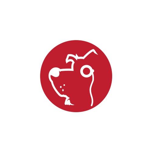 Design a canine mascot icon