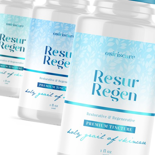 Resurgen Label Design