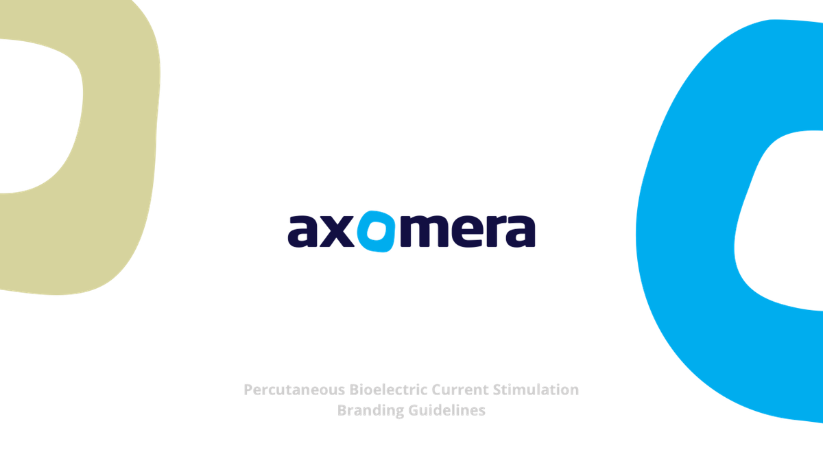 """Brand Guide for the MedTech StartUp """"Axomera"""""""