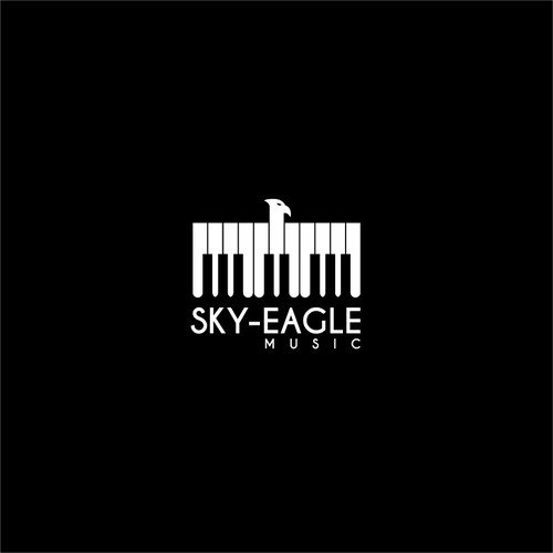 Create a winning logo design for Sky-Eagle Music