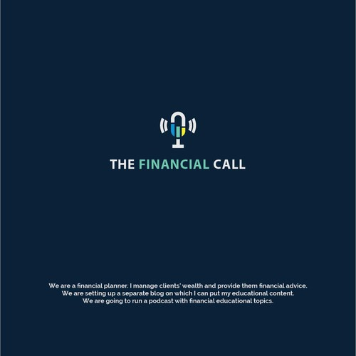 "Logo Concept for ""The Financial Call"""