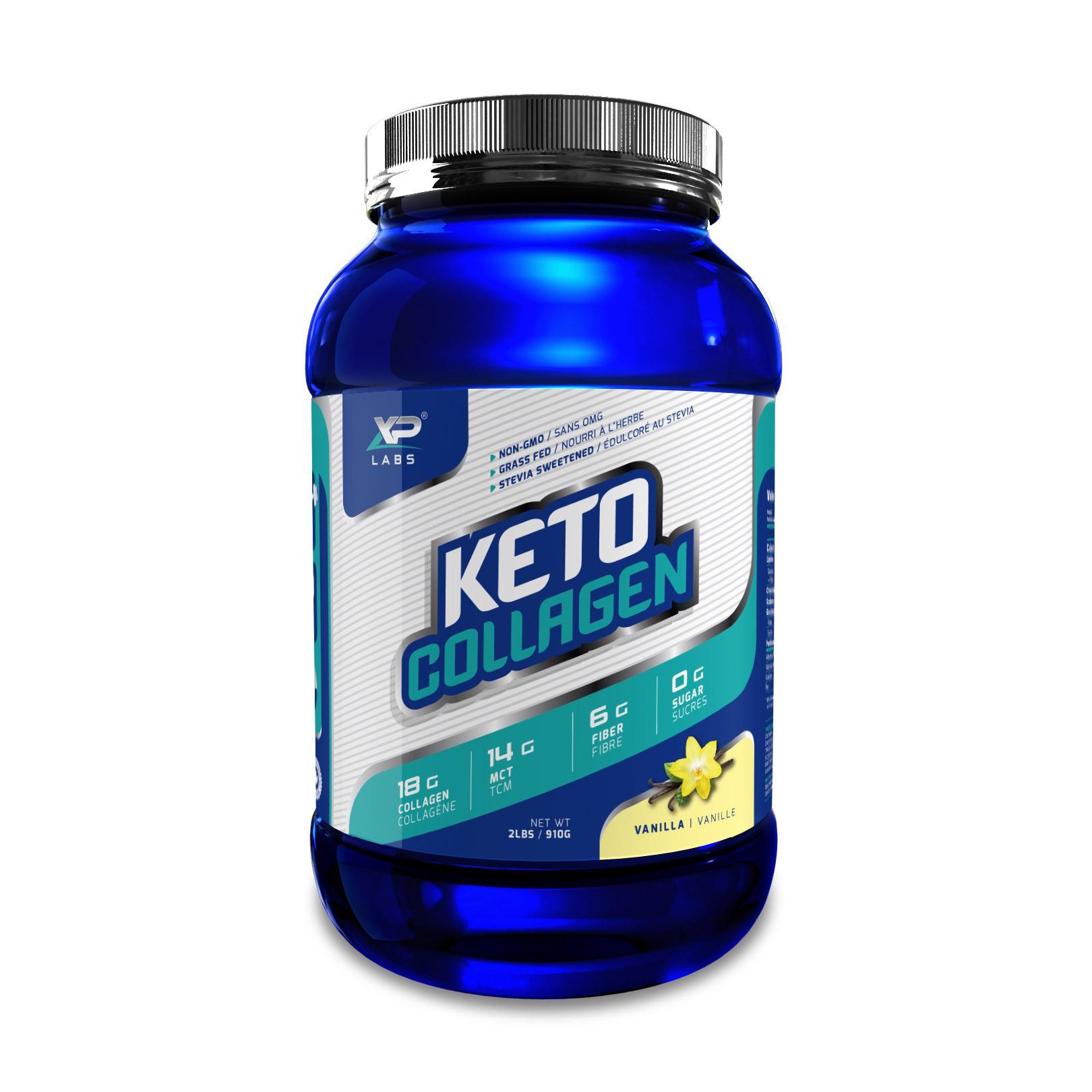 Keto Collagen - 2 Labels
