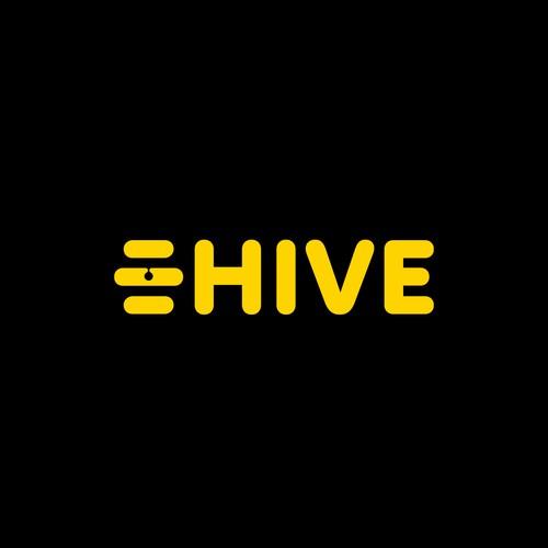 HIVE Design a Healthy Fast Casual Restaurant logo