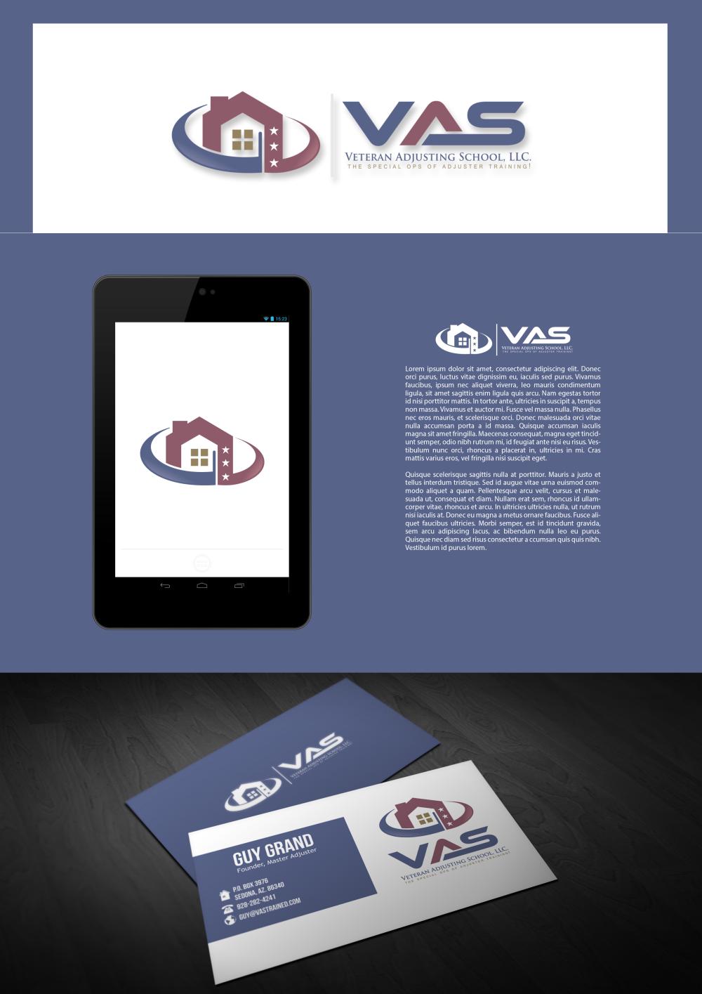 Design a Winning Logo for Veteran Adjusting School!