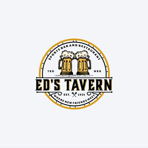 Logo Concept for Ed's Tavern