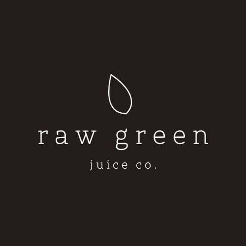Brand for upmarket raw juice company