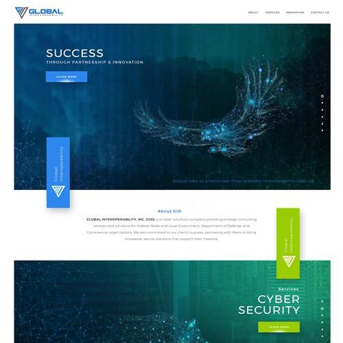 GIO Website Design