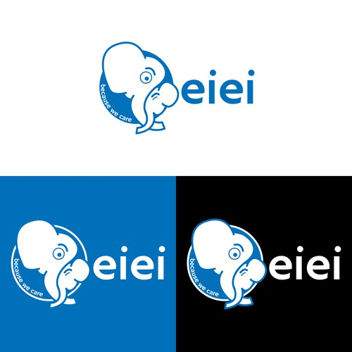 Logo concept for a baby care product (2)