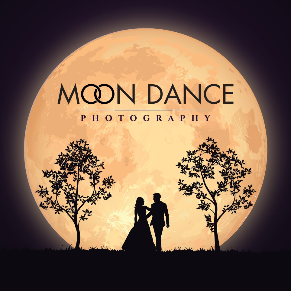 Create a organic logo for Moon Dance Photography