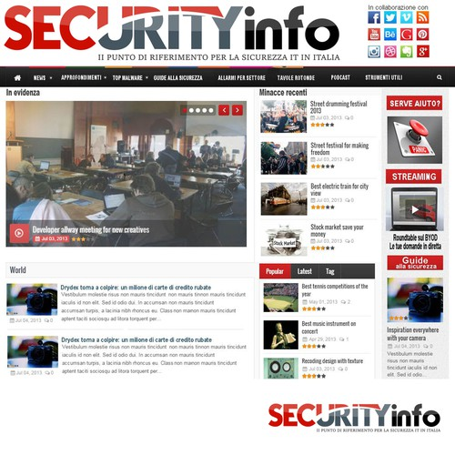 Security Info