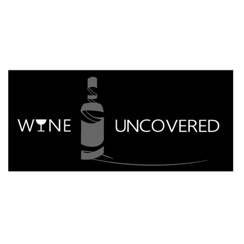 Logo for blind wine tasting events - Wine Uncovered