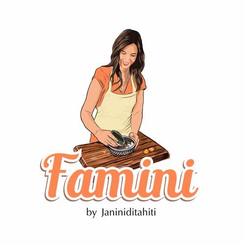 Famini logo design
