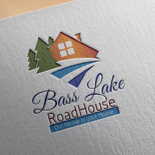 Logo for Bass Lake