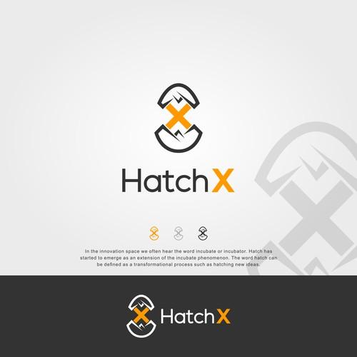 Eggs hatch logo for HatchX