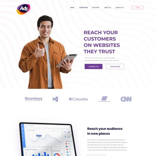 Ads Web design