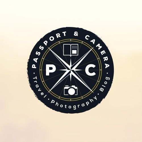 Passport & Camera Logotype