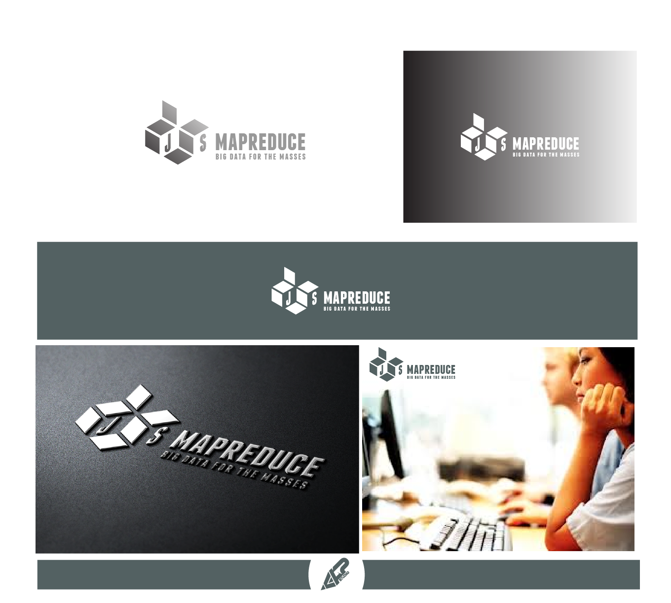 Create the next logo for A graphic that incorporates the name.